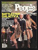 People magazine cover, Battlestar Galactica 10-2-1978. Composite photo by John G. Zimmerman.