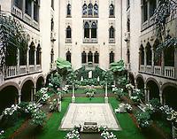 Isabella Stuart Gardiner Museum atrium Boston MA