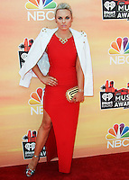 LOS ANGELES, CA, USA - MAY 01: Katy Tiz at the iHeartRadio Music Awards 2014 held at The Shrine Auditorium on May 1, 2014 in Los Angeles, California, United States. (Photo by Celebrity Monitor)