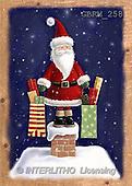 Roger, CHRISTMAS SANTA, SNOWMAN, paintings(GBRM258,#X#) Weihnachtsmänner, Schneemänner, Weihnachen, Papá Noel, muñecos de nieve, Navidad, illustrations, pinturas