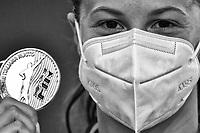 CASTIGLIONI Arianna Italian Champion<br /> 100m Breaststroke Women<br /> Roma 11/08/2020 Foro Italico <br /> FIN 57 Trofeo Sette Colli 2020 Internazionali d'Italia<br /> Photo Andrea Staccioli/DBM/Insidefoto