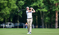 David Howell during Practice Day at BMW PGA Championship Wentworth Golf at Wentworth Drive, Virginia Water, England on 22 May 2018. Photo by Andy Rowland.