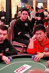 Ivan Tan sweats his friend Brian Huang