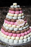 Great Britain, England, North Yorkshire, Harrogate: Macaroons in the famous Bettys Tea Room