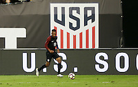 Washington, D.C. - October 11, 2016: The U.S. Men's National team take 1-0 lead over New Zealand in second half play in an international friendly game at RFK Stadium.
