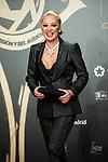 "Belen Esteban attend ""Iris Academia de Television' awards at Nuevo Teatro Alcala, Madrid, Spain. <br /> November 18, 2019. <br /> (ALTERPHOTOS/David Jar)"