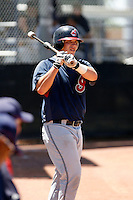Roberto Perez -  Cleveland Indians - 2009 extended spring training.Photo by:  Bill Mitchell/Four Seam Images