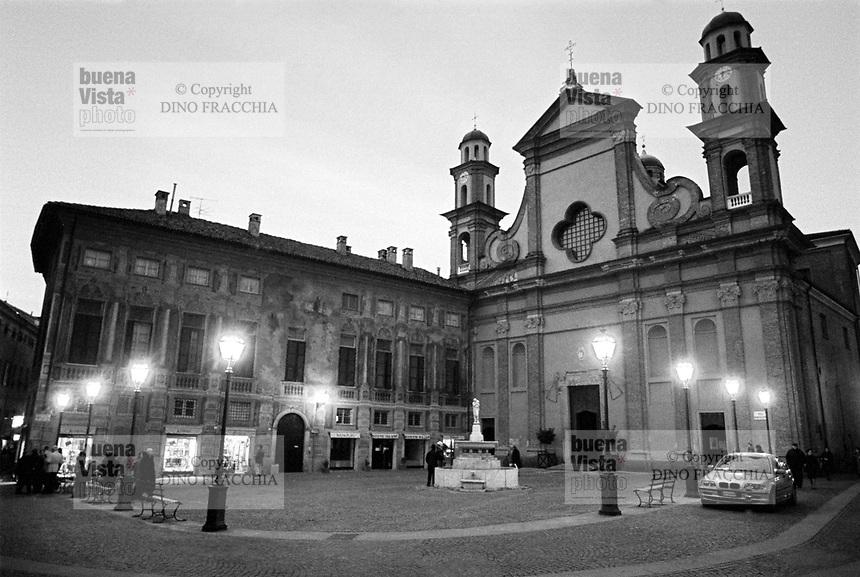 - Novi Ligure (Alessandria),  Chiesa Collegiata di Santa Maria Maggiore.<br /> <br /> - Novi Ligure (Alessandria), Collegiate Church of Santa Maria Maggiore.