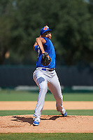 Toronto Blue Jays pitcher Angel Perdomo (80) during an instructional league game against the Atlanta Braves on September 30, 2015 at the ESPN Wide World of Sports Complex in Orlando, Florida.  (Mike Janes/Four Seam Images)
