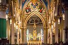 October 31, 2017; Basilica of the Sacred Heart interior (Photo by Matt Cashore/University of Notre Dame)