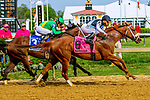 MAYL 17, 2019 : Point of Honor, ridden by Javier Castellano, wins the Black-Eyed Susan at Pimlico Racecourse, on May 17, 2019 in Baltimore, MD.  Sue Kawczynski_ESW_CSM