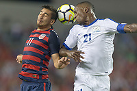 Tampa, FL - July 12, 2017: Alejandro Bedoya The USMNT (USA) defeated Martinique (MAR) 3-2 in a 2017 Gold Cup group stage match at Raymond James Stadium.