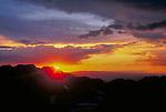 Sunset,  San Juan Mountains, Colorado.