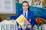 Siobhan O'Donoghue (Castleisland Community College) attending the Kerry ETB Student Awards ceremony in the IT Tralee on Friday night.