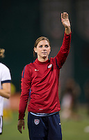 Alex Morgan. The USWNT defeated Mexico, 7-0, during an international friendly at RFK Stadium in Washington, DC.  The USWNT defeated Mexico, 7-0.