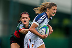 France vs Mexico during the Day 1 of the IRB Women's Sevens Qualifier 2014 at the Skek Kip Mei Stadium on September 12, 2014 in Hong Kong, China. Photo by Aitor Alcalde / Power Sport Images