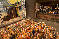 """Travelers looking for old-world, traditional Mexico only need to travel about 30 minutes from Zihuatanejo/Ixtapa to find the gold mining town of Petatlan, population 18,000. ..The town boasts the beautiful church """"Cristo Jesus de Petatlan,"""" where travelers light hundreds of candles daily in memory of and prayer for loved ones.  Petatlan, in Guerrero, also is home to a town square, gold market and colorful street market.  (Photos taken August 2007) PHOTOS BY: PATRICK SCHNEIDER PHOTO.COM"""