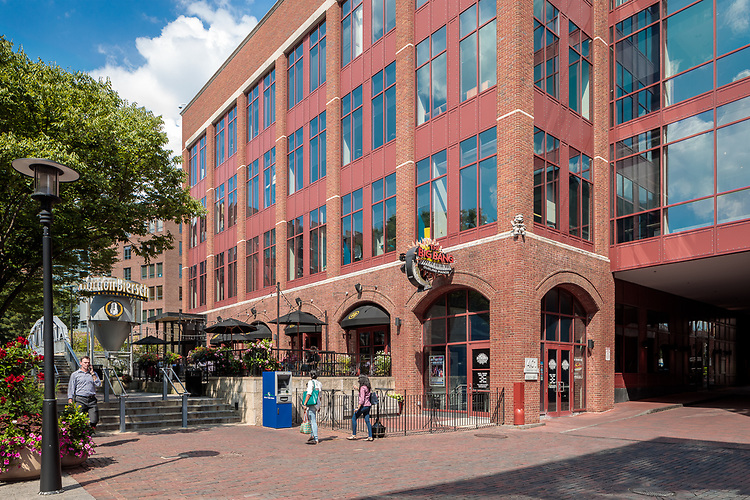 Arena District Office Buildings Exteriors | Acock Associates Architects