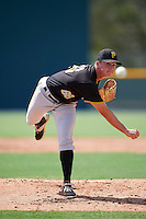 Pittsburgh Pirates pitcher Robbie Coursel (66) during an Instructional League Intrasquad Black & Gold game on September 28, 2016 at Pirate City in Bradenton, Florida.  (Mike Janes/Four Seam Images)