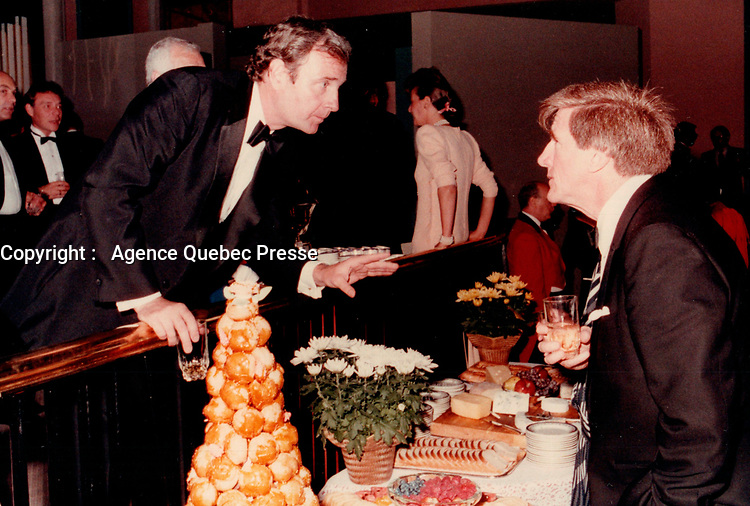 soiree Parti Liberal du Canada<br /> <br /> <br /> Photo : Agence Quebec Presse