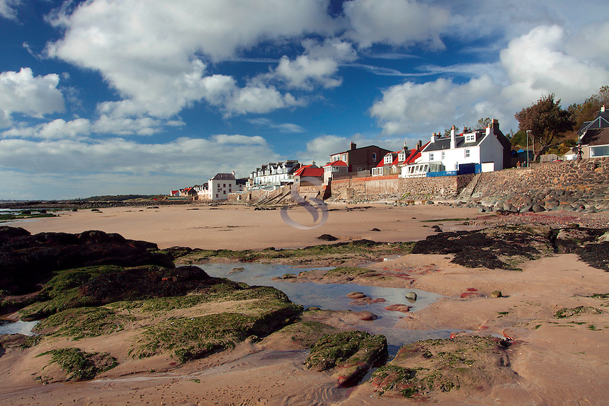 Lower Largo beach, the East Neuk of Fife, Fife