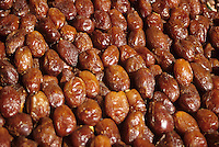 Marrakesh, Morocco - Dates for Sale in the Place Jemaa El-Fna.