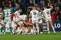 Friday 8th October 2021<br /> <br /> Nathan Doak celebrates after he scored during the URC Round 3 clash between Ulster Rugby and Benetton Rugby at Kingspan Stadium, Ravenhill Park, Belfast, Northern Ireland. Photo by John Dickson/Dicksondigital