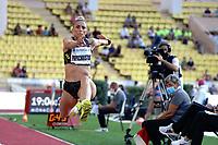 9th July 2021, Monaco, France; Diamond League Athletics, Herculis meeting, Monaco;  Paraskevi Papachristou (Gre) womens long jump
