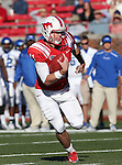 Southern Methodist Mustangs quarterback GARRETT GILBERT (11) in action during the game between the Memphis Tigers and the Southern Methodist Mustangs at the Gerald J. Ford Stadium in Dallas, Texas. SMU defeats Memphis 44 to 13.