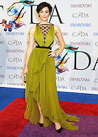 NEW YORK CITY, NY, USA - JUNE 02: Emmy Rossum arrives at the 2014 CFDA Fashion Awards held at Alice Tully Hall, Lincoln Center on June 2, 2014 in New York City, New York, United States. (Photo by Celebrity Monitor)