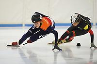 SCHAATSEN: HEERENVEEN: 05-10-2018 IJsstadion Thialf, schaatstraining, Avalon Aardom, ©foto Martin de Jong