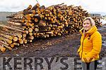 Lorraine Galway of All Fuel Supplies (AFS) in their yard in Ballyheigue