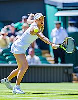 London, England, 2 th July, 2018, Tennis,  Wimbledon, Caroline Wozniacki (DEN)<br /> Photo: Henk Koster/tennisimages.com