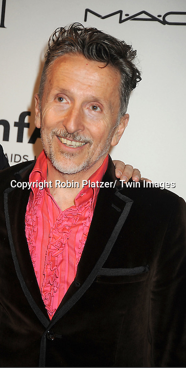 Simon Doonan attends the amfAR Inspiration Gala on June 7, 2012 at The New YOrk Public Library in New York City. The honorees were Fergie and Robert Duffy/ Marc Jacobhs International and the Scissor Sisters performed.