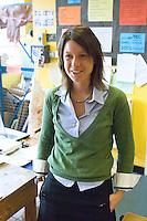 Art teacher, state Secondary Roman Catholic School.