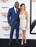 Stephen 'Twitch' Boss and Allison Holker<br /> <br /> <br /> <br />  attends The Warner Bros. Pictures' L.A. Premiere of Magic Mike XXL held at The TCL Chinese Theatre  in Hollywood, California on June 25,2015                                                                               © 2015 Hollywood Press Agency