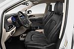 Front seat view of 2020 Chrysler Voyager LX 5 Door Minivan Front Seat  car photos