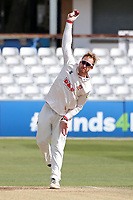 Simon Harmer in bowling action for Essex during Essex CCC vs Worcestershire CCC, LV Insurance County Championship Group 1 Cricket at The Cloudfm County Ground on 11th April 2021