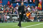 Atletico de Madrid's coach Diego Pablo Cholo Simeone during Champions League 2015/2016 Semi-Finals 1st leg match. April 27,2016. (ALTERPHOTOS/Acero)