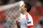 SL Benfica's Nicolas Gaitan celebrates goal during Champions League 2015/2016 match. September 30,2015. (ALTERPHOTOS/Acero)