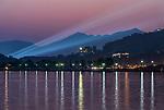 China, Zhejiang, Hangzhou, Twilight West Lake