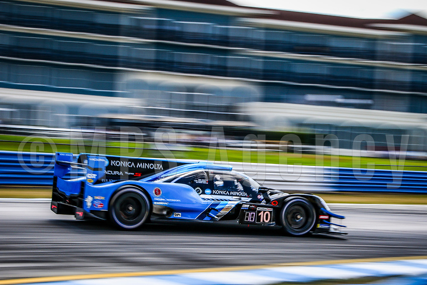 #11 WIN MOTORSPORT (USA) ORECA 07- GIBSON LMP2 - STEVEN THOMAS (USA) TRISTAN NUNEZ (USA) THOMAS MERRILL (USA)