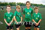 Fenit Samphires U12's attending the soccer blitz in the Park on Saturday, l to r: Even Lyons, Luke O'Carroll, Killian Burns and Cillian O'Brien