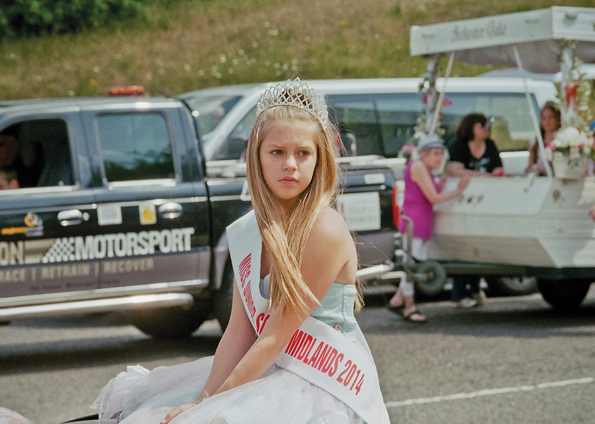 """Junior Queen of the South Midlands, Sienna Blanchard -Wood.<br /> <br /> """"Your ex is not your child's ex, they love your ex just as much as they did before. Do not talk down about someone they LOVE! Do NOT make them feel bad about loving their own parent! They did not choose this. Choose your kids first!"""""""