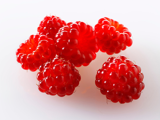 Organic Wineberry [Rubus phoenicolasius] - Japanese fruit
