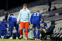 29th September 2020; Tottenham Hotspur Stadium, London, England; English Football League Cup, Carabao Cup, Tottenham Hotspur versus Chelsea; Timo Werner of Chelsea shows signs of an injury