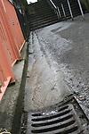 Pitcher Hill Steps Leak