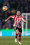 Mikel Rico Moreno of Athletic Club de Bilbao in action during the La Liga 2017-18 match between Getafe CF and Athletic Club at Coliseum Alfonso Perez on 19 January 2018 in Madrid, Spain. Photo by Diego Gonzalez / Power Sport Images