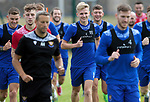 St Johnstone Pre-Season Training...28.06.21<br />Ali McCann pictured running on the first day of pre-season training<br />Picture by Graeme Hart.<br />Copyright Perthshire Picture Agency<br />Tel: 01738 623350  Mobile: 07990 594431