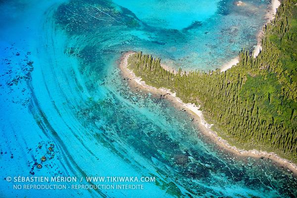 Pointe Wèkwiè et baie de Mo, Presqu'île d'Oro, Ile des Pins, Nouvelle-Calédonie
